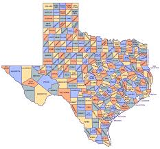 Map Of Usa And Cities by Texas Map With Counties And Cities Map Of Usa States