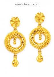 chandbali earrings chandbali earrings 22k gold drop earrings