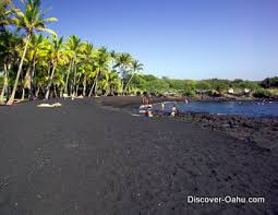 black sand beach big island big island beaches