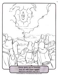 coloring page of jesus jesus ascension coloring page cartoon jesus coloring page free