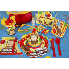 curious george party 9 curious george party plates 8ct walmart