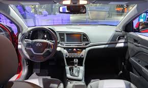 Hyundai Elentra Interior 2017 Hyundai Elantra Limited And Se Review Cleanmpg