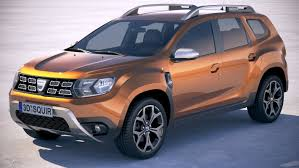 renault duster 2018 dacia duster 2018 3d model turbosquid 1203657