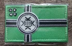 Kek Meme - kekistan flag embroidered hook loop patch 8 5x5cm 4chan kek meme
