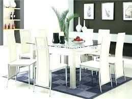 Glass Dining Table For 6 Dining Room Chairs Set Of 6 Glass Dining Table And 6 Chairs Glass