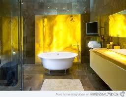 Yellow Bathroom Accessories by 15 Charming Yellow Bathroom Design Ideas Home Design Lover