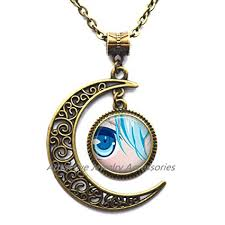 anime necklace images Anime necklace wearable art pendant charm jewelry jpg