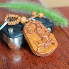 aliexpress buy monkey carved rosewood pendant ornament for