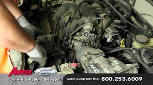 how to install a water pump ford 3 0l v6 wp 9035 aw4091 youtube
