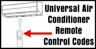 universal air conditioner remote control codes removeandreplace com