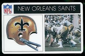 new orleans saints 1976 popsicle 17 vintage football card gallery
