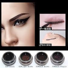 light brown gel eyeliner yanqina new long lasting waterproof liquid eyeliner gel feather pen