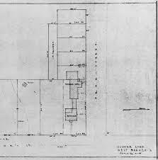 blacksmith shop floor plans herbert hoover nhs historic structures report table of contents
