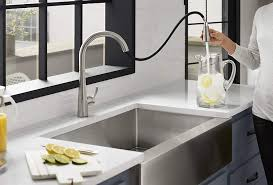 kitchen cabinet sink faucets the best kitchen faucet options for homeowners bob vila