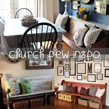 Church Pew Home Decor Things I U0027m Lovin U0027 On Church Pew Edition Our Holly Days