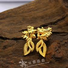 earrings hong kong hong kong gold shop brides earrings 24k gold plated imitation gold