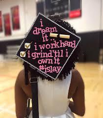 Grad Cap Decoration Ideas Graduation Cap Ideas For Black Girls Hergivenhair