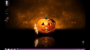 tema theme halloween en hd para windows 10 8 1 8 y 7 youtube