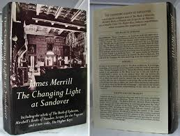 the changing light at sandover the changing light at sandover including the whole of the book of