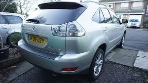 lexus rx 400h facelift 2006 lexus rx400h se 3 3 petrol hybrid cvt 90 000 miles now sold