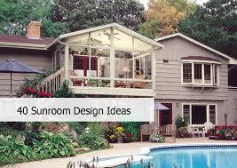 Do It Yourself Sunroom 40 Awesome Sunroom Design Ideas