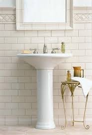 Subway Tiles Bathroom 87 Best Small Bathroom Images On Pinterest Bathroom Home Decor