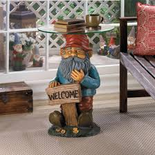 Ceramic Accent Table by Garden Gnome Accent Table Wholesale At Koehler Home Decor