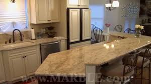 White Granite Kitchen Countertops by Colonial Gold Granite Kitchen Countertops V By Marble Com Youtube