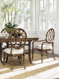 bali hai cedar key oval back side chair lexington home brands