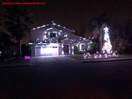 san jose christmas lights christmas lights holiday display at 15273 stratford drive san