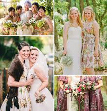 print bridesmaid dresses pretty in print bridesmaid dresses onefabday