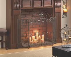 fireplace best fireplace mesh screen home decoration ideas