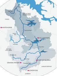 america map of rivers america s most northerly rivers are sensitive to climate change