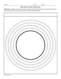 free build an atom activity with a hole punch and glue moza