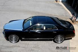 bentley custom rims bentley mulsanne with 22in lexani lf722 wheels exclusively from