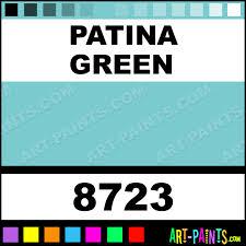 patina green glaze acrylic paints 8723 patina green paint