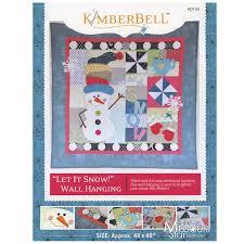 let it snow wall hanging pattern kimberbell designs u2014 missouri