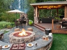 home decor contemporary outdoor fireplace ideas design