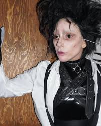 Edward Scissorhands Costume Lady Gaga Edward Scissorhands Halloween Costume 2017 Popsugar
