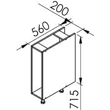 meuble cuisine 20 cm largeur caisson cuisine 20 cm caisson cuisine 20 cm caisson bas de cuisine