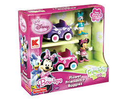 disney minnie mouse bow tique flower friendship buggies 2 pk