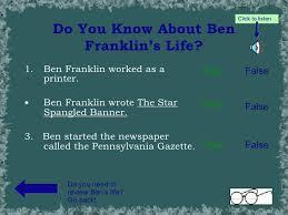 ben franklin light bulb benjamin franklin powerpoint