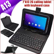 android tablets with keyboards 7 inch android 4 0 a13 capacitive screen 2g sim calling tablet