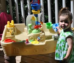 Little Tikes Anchors Away Pirate Ship Water Table Keeping Even The Littlest Ones Entertained This Summer With Little