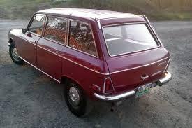 peugeot 504 wagon little red wagon 1971 peugeot 304 wagon