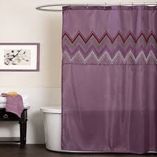 Jcpenney Purple Curtains Purple Shower Curtains For Bed U0026 Bath Jcpenney