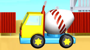 app demos for kids 3d cement truck construction ipad android