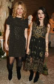 courtney love and daughter frances bean cobain u0027s london night out