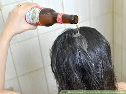 how to make hair soft how to make your hair soft using budweiser 8 steps