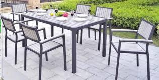Aluminium Bar Table Metal Bar Table And Chairs Patio Garden Furniture Sets 7 Pcs